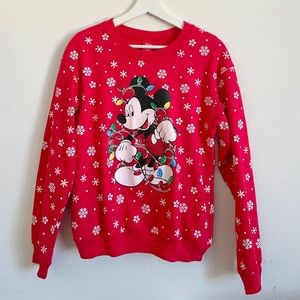 DISNEY MICKEY MOUSE LIGHT UP SWEATER